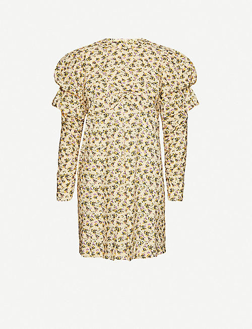 ZADIG&VOLTAIRE: Rename floral-print cotton-poplin mini dress