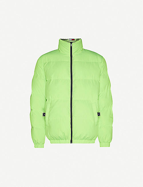 TOMMY JEANS: Reversible padded shell-down jacket