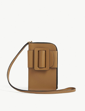 BOYY Bobby buckle leather phone crossbody bag