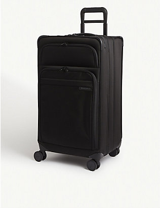 BRIGGS & RILEY: Baseline International carry-on expandable upright suitcase