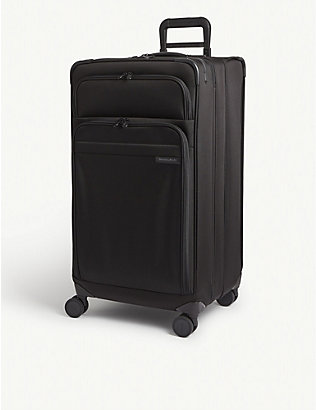 BRIGGS & RILEY: Baseline extra-large expandable suitcase 79cm