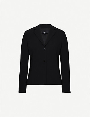 THEORY: Single-breasted woven blazer