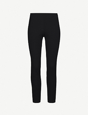 THEORY High-rise skinny stretch-jersey leggings