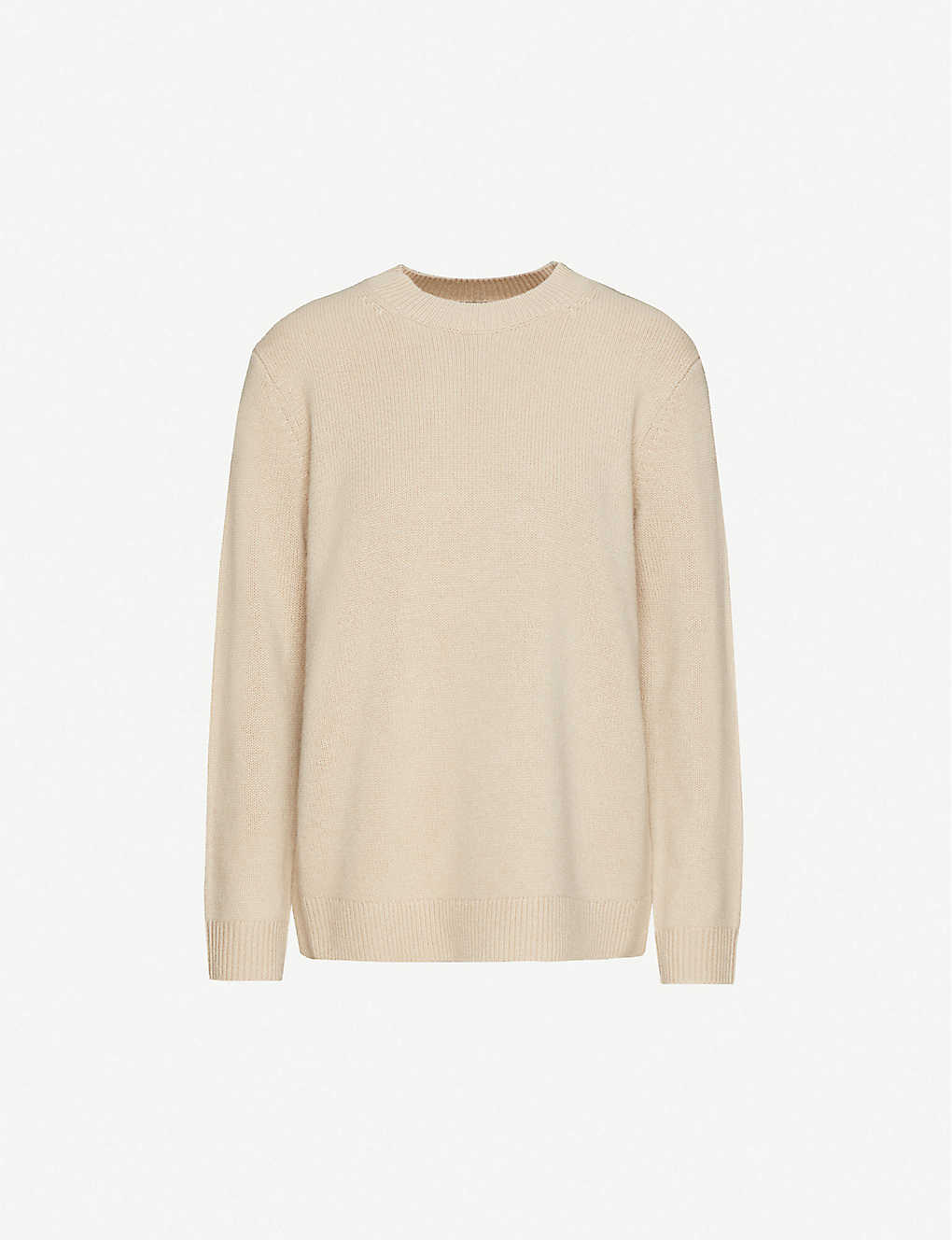 THEORY: Solid crew neck cashmere jumper