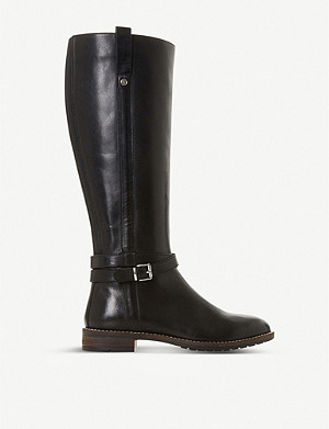 DUNE Tylar leather knee-high boots