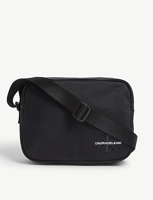 CALVIN KLEIN JEANS Logo nylon cross-body bag