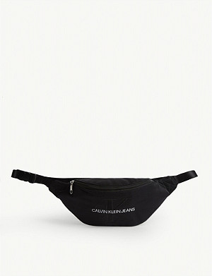 CALVIN KLEIN JEANS Logo nylon belt bag