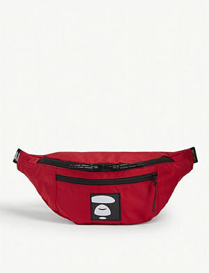 AAPE Logo patch belt bag