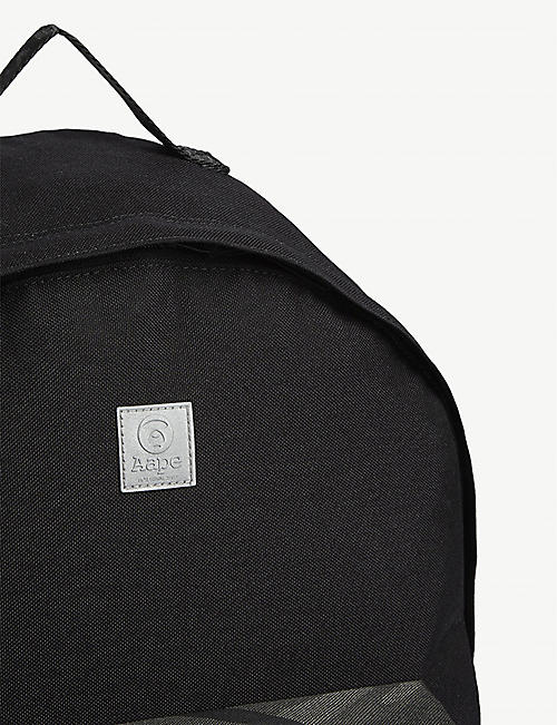 AAPE Camouflage trim nylon backpack