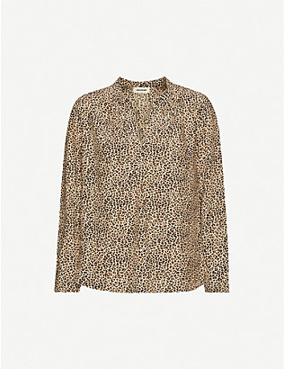 ZADIG&VOLTAIRE: Tink Leo leopard-print blouse