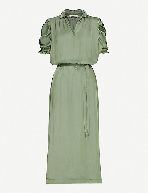 ZADIG&VOLTAIRE: Ray crepe maxi dress