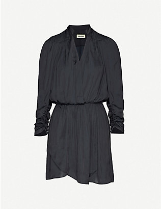 ZADIG&VOLTAIRE: Reveal crepe dress
