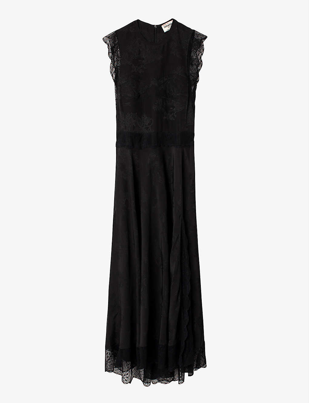 ZADIG&VOLTAIRE: Rage silk-jacquard maxi dress