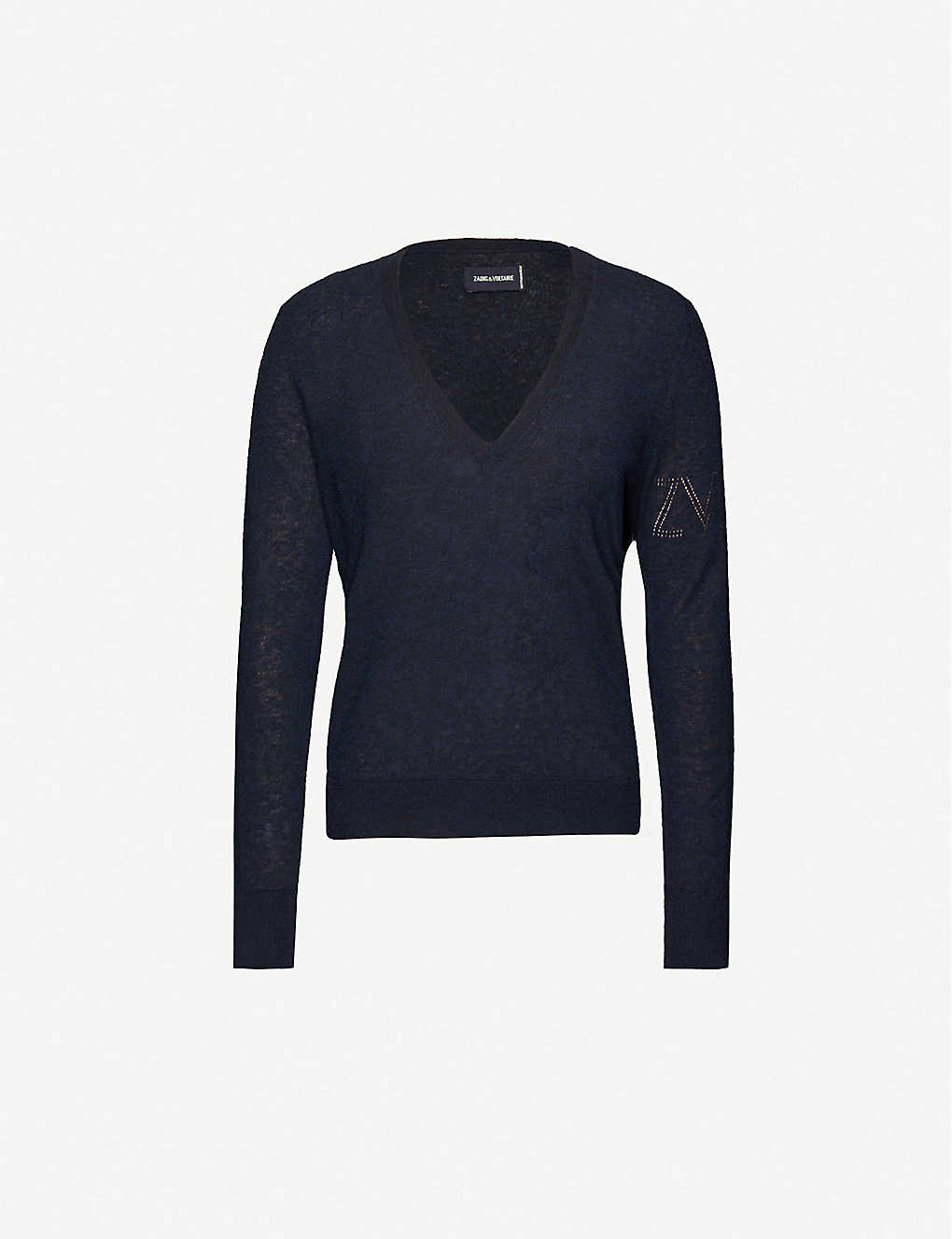 ZADIG&VOLTAIRE: Friday cashmere knitted jumper