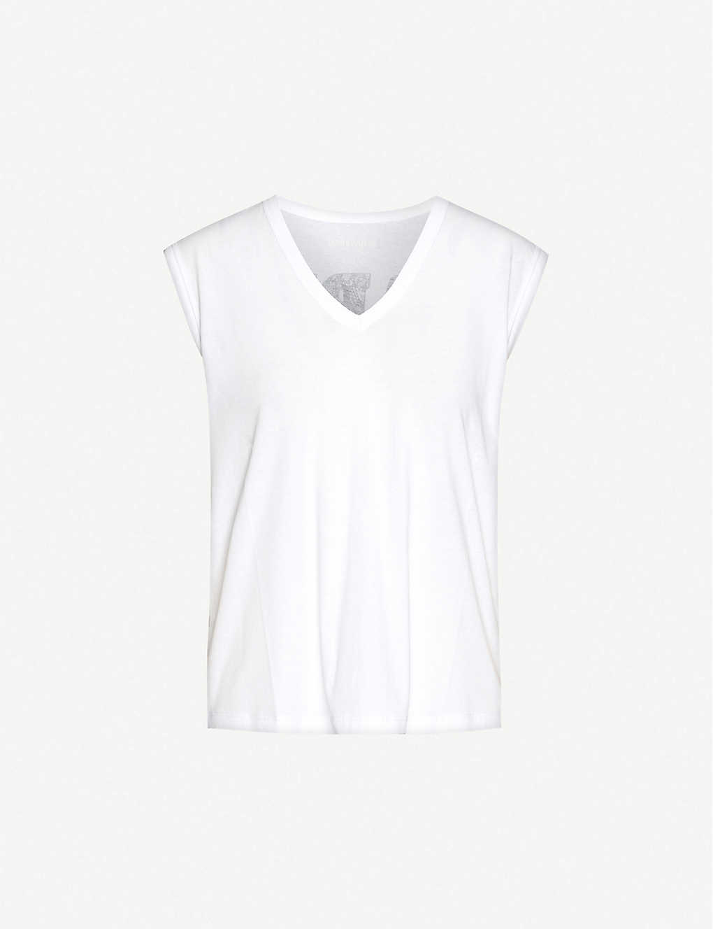 ZADIG&VOLTAIRE: Adria V-neck cotton-jersey top