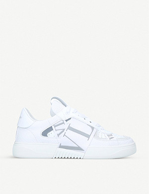 VALENTINO VL7N logo-embellished leather trainers