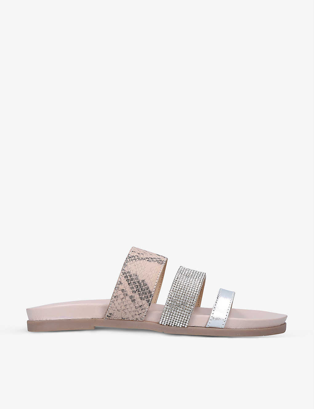 CARVELA: Antigua three-strap leather sandals