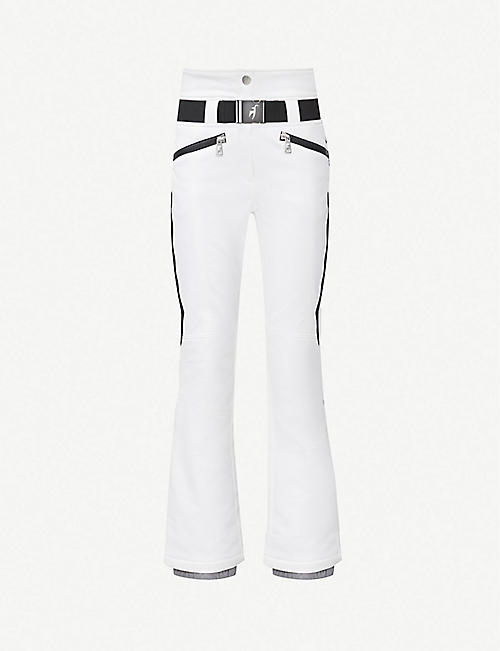 TONI SAILER Anais flared high-rise stretch-jersey ski trousers