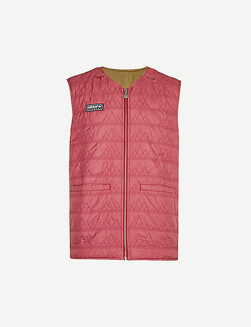 ADIDAS STATEMENT Reversible shell gilet