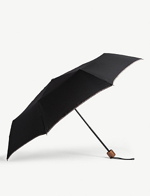 PAUL SMITH Stripe trim umbrella