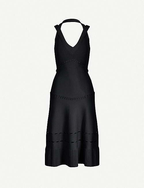 ALEXIS: Betti V-neck stretch-jersey dress