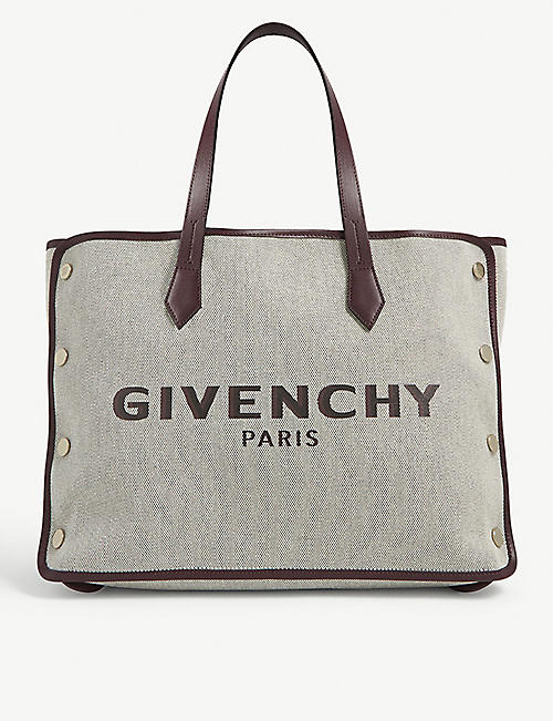 GIVENCHY Bond large cotton tote