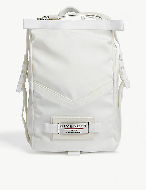 GIVENCHY: Downtown mini nylon backpack