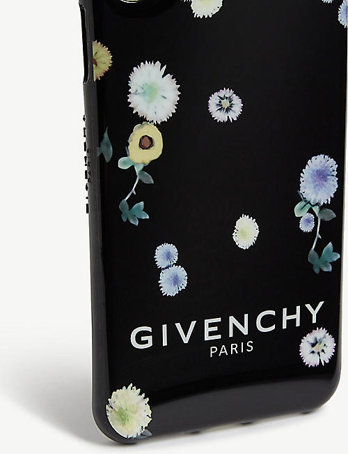 GIVENCHY Floral print phone case