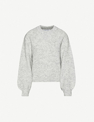SAMSOE & SAMSOE Abina high-neck knitted jumper