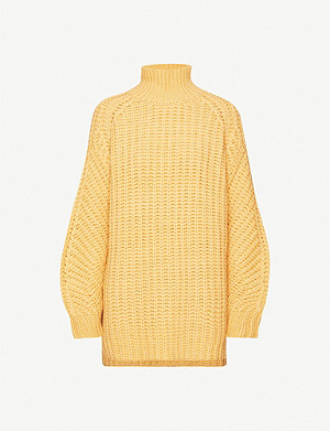 SAMSOE & SAMSOE Zelma turtleneck wool-blend jumper