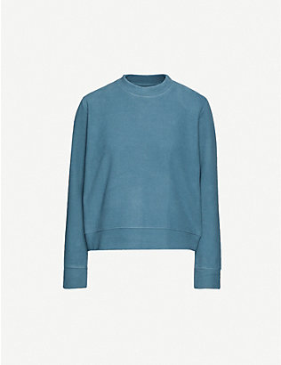 SAMSOE & SAMSOE: Apin relaxed-fit cotton-blend sweatshirt