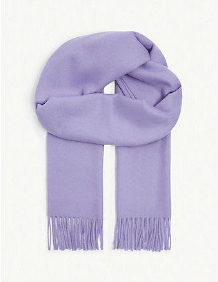 SAMSOE & SAMSOE: Accola wool and cashmere scarf