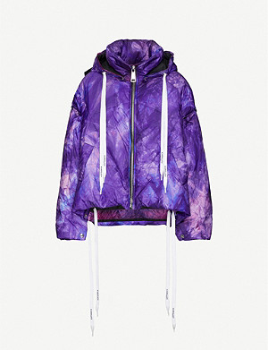 KHRISJOY Khris hooded shell-down jacket
