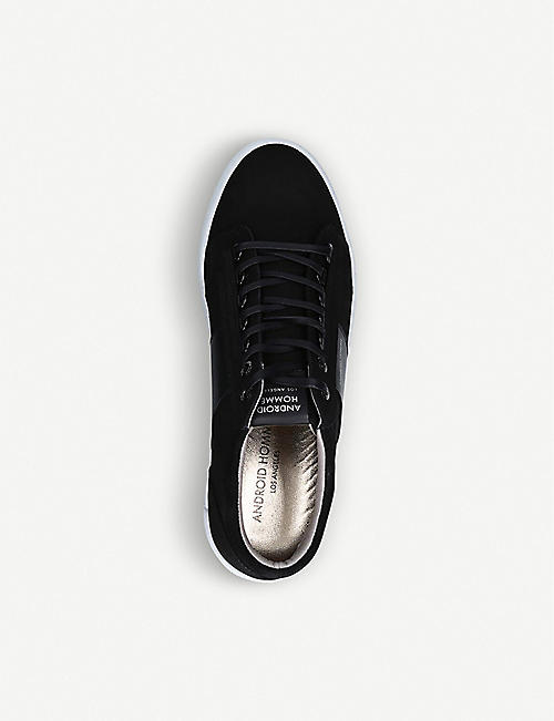 ANDROID Mid Propulsion nubuck leather trainers