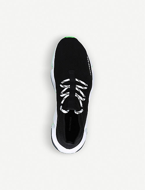 BALENCIAGA Speed lace-up knitted trainers