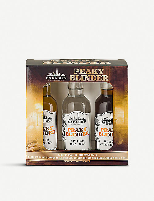SPIRIT GIFTING: Peaky Blinders spirits gift set 3x50ml