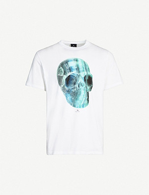 PS BY PAUL SMITH Crystal Skull printed T-shirt