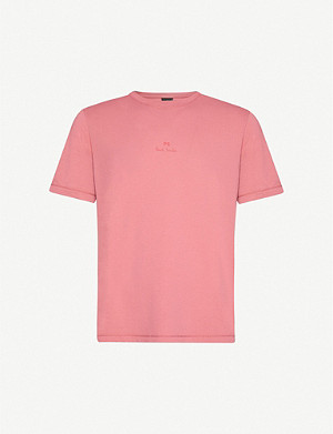 PS BY PAUL SMITH Logo-print cotton-jersey T-shirt