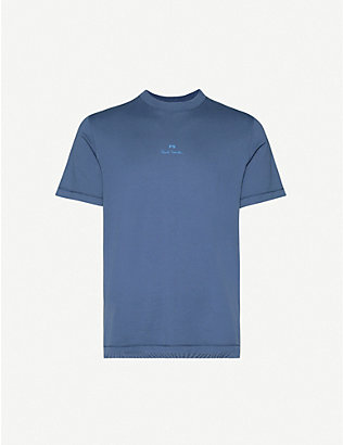 PS BY PAUL SMITH: Logo-print cotton-jersey T-shirt