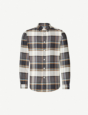 PS BY PAUL SMITH Tailored checked cotton shirt