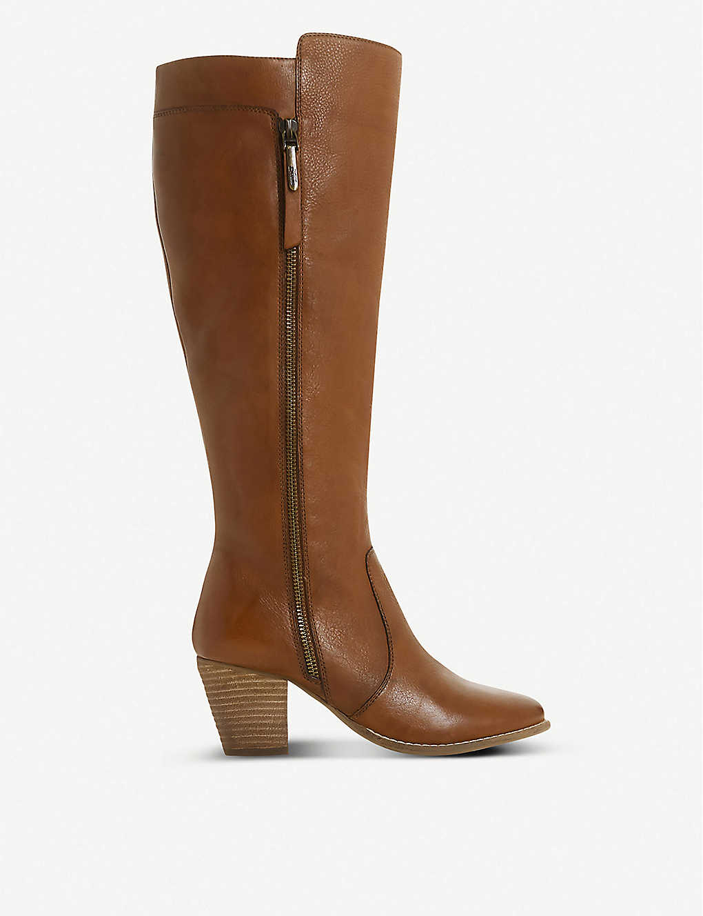DUNE: Tiana knee-high leather boots