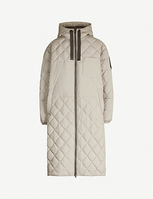MOOSE KNUCKLES Marquis quilted hooded shell-down parka