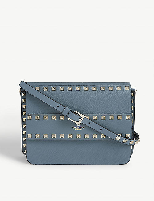 VALENTINO Rowstud small leather cross-body bag