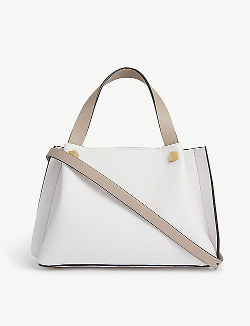 VALENTINO GARAVANI: VLOGO mini leather shopper