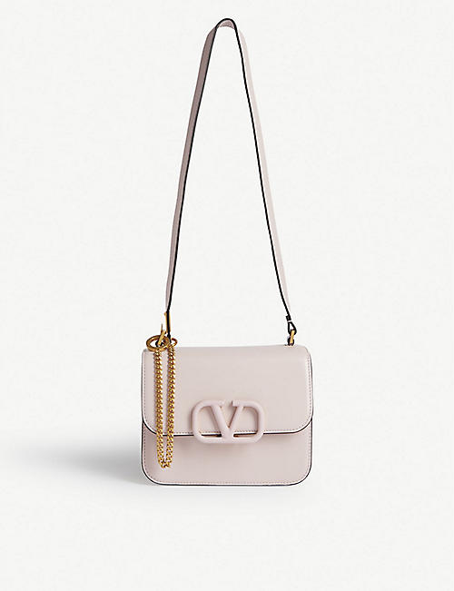 VALENTINO V-sling leather shoulder bag