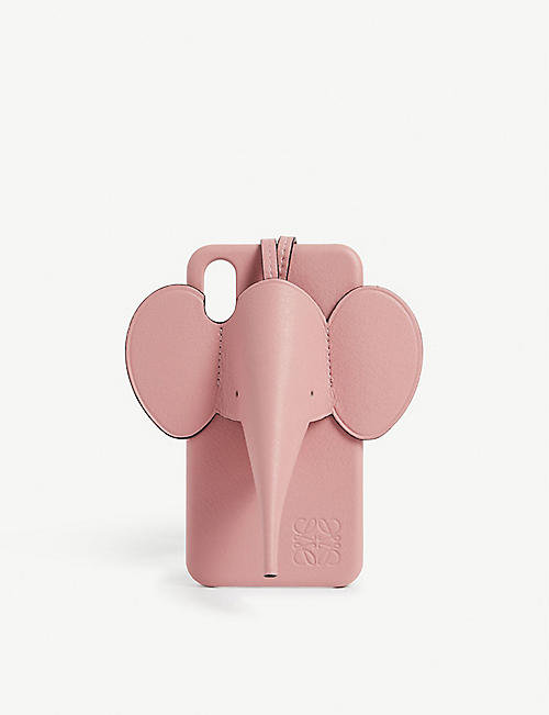 LOEWE Leather elephant phone case iPhone X/XS