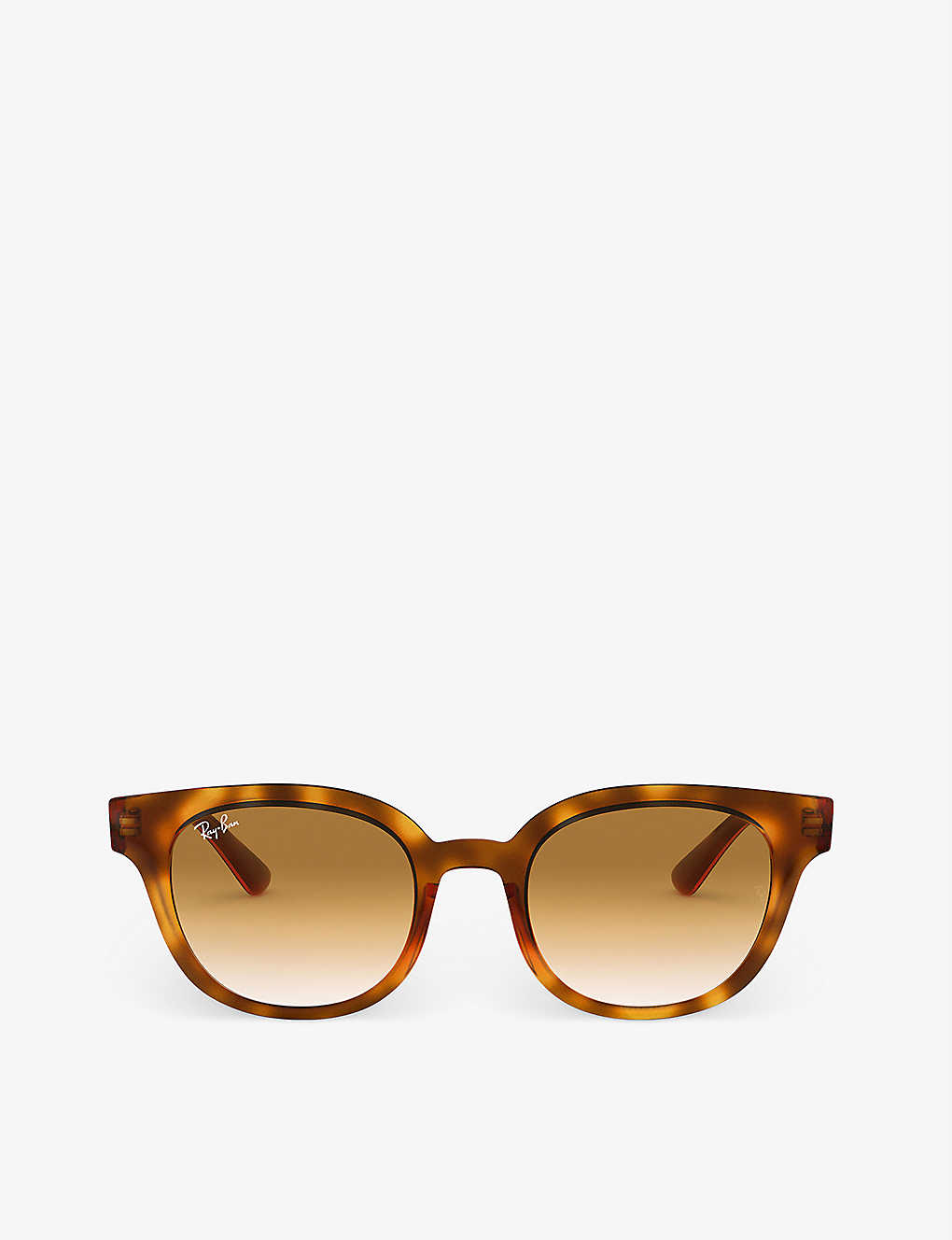RAY-BAN: RB4324 acetate square-frame sunglasses