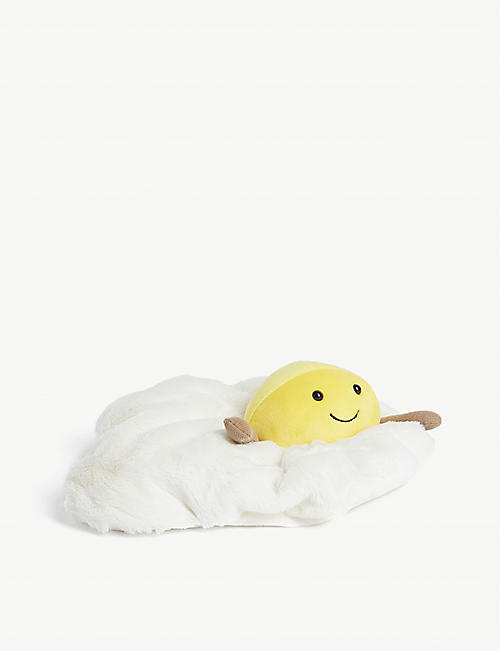 JELLYCAT Amusable Fried Egg soft toy 27cm