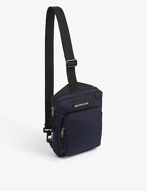 BALENCIAGA Explorer medium canvas cross-body bag