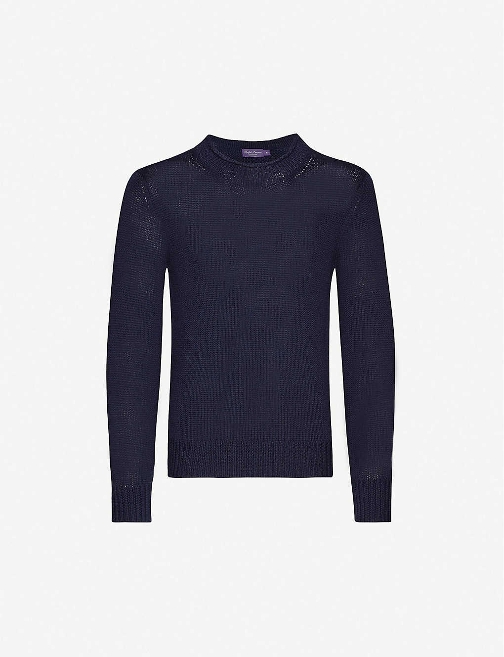 RALPH LAUREN PURPLE LABEL: High-neck slim-fit cashmere jumper